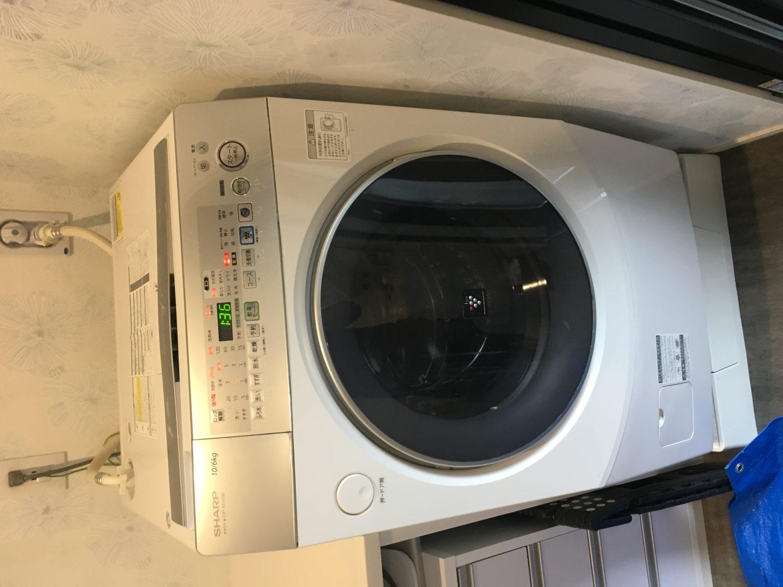 ドラム式洗濯機 ES-V530