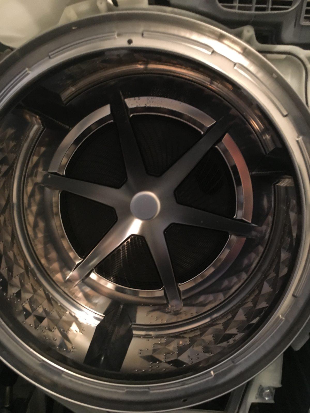 パナソニック:NA-VG700 ドラム内部 アフター