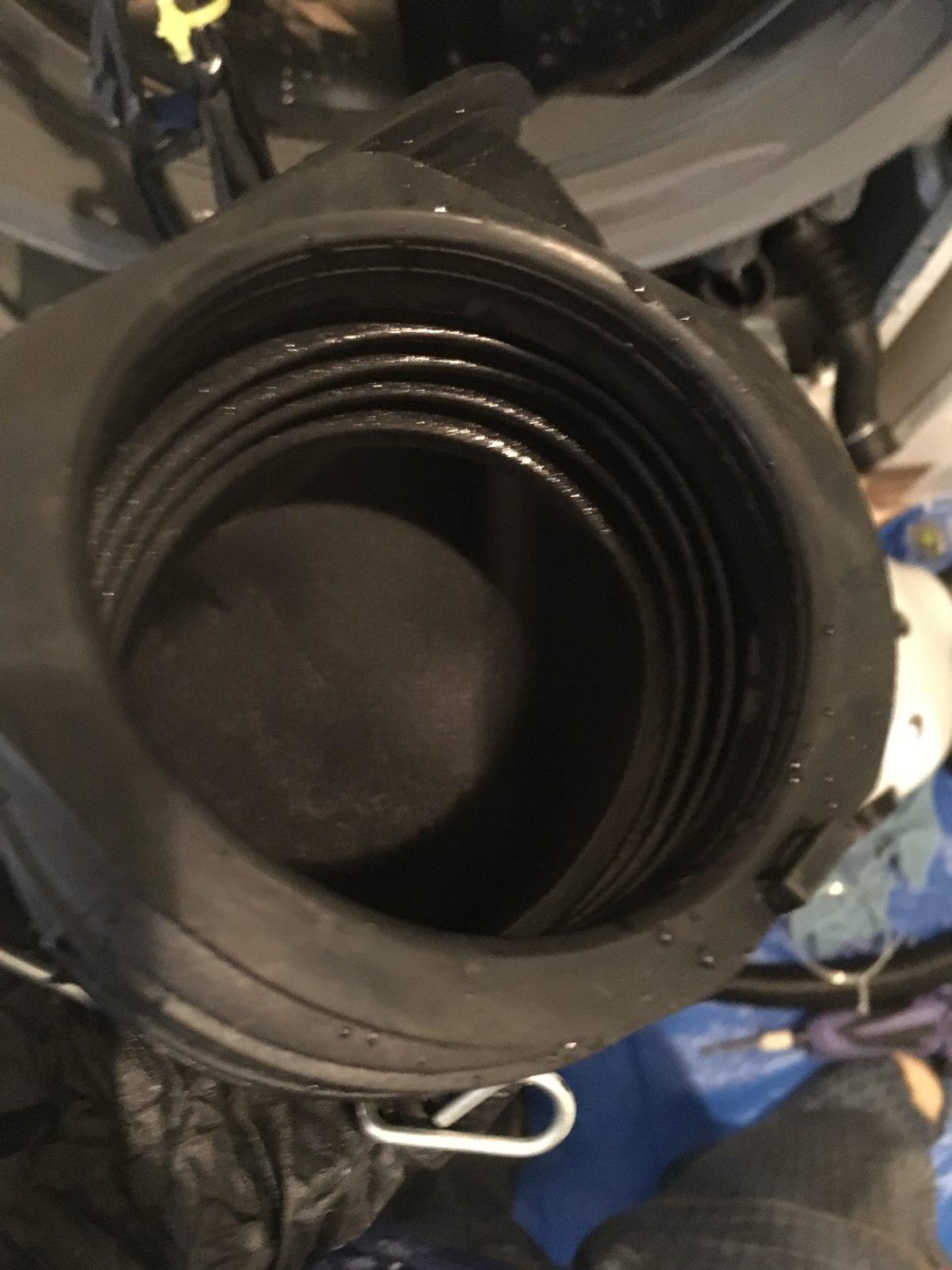 パナソニック:NA-VG700 循環ダクト アフター